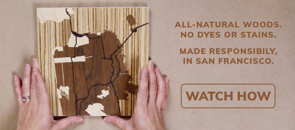 Woodcut Maps Handcrafted Wood Inlay Maps Designed By You